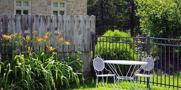 Vierkante tuin inrichten